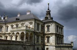 Pidgirtsikasteel in Lviv-gebied ukraine Stock Foto