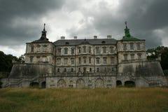 Pidhirtsi城堡 库存图片