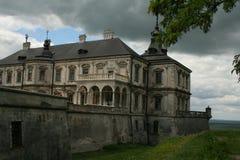 Pidhirtsi城堡 免版税库存照片