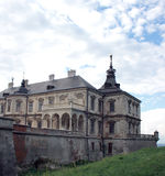 Pidhirtsi Castle Stock Photo