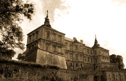Pidhirtsi Castle Royalty Free Stock Photography