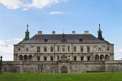 Pidhirtsi Castle Στοκ εικόνες με δικαίωμα ελεύθερης χρήσης