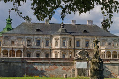 Pidhirtsi Castle facade Stock Images