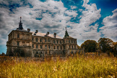 Pidhirtsi Castle, Lviv region, Ukraine Stock Image