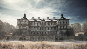 Pidhirtsi Castle. Pidhirtsi Stock Photography