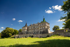 Pidhirtsi Castle Royalty Free Stock Images
