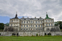 Pidhirtsi castle 17th century. Royalty Free Stock Images
