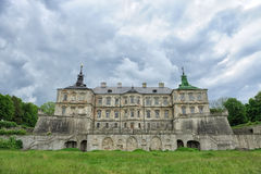 Pidhirtsi Castle, village Podgortsy, Renaissance Palace, Lviv re Royalty Free Stock Photos