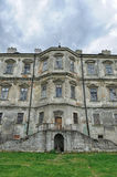 Pidhirtsi Castle, village Podgortsy, Renaissance Palace, Lviv re Stock Photo