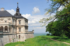 Pidhirtsi Castle, village Podgortsy, Renaissance Palace, Lviv re Stock Photography