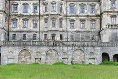 Pidhirtsi Castle, village Podgortsy, Renaissance Palace, Lviv re Stock Image