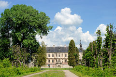 Pidhirtsi Castle, village Podgortsy, Renaissance Palace, Lviv re Stock Images