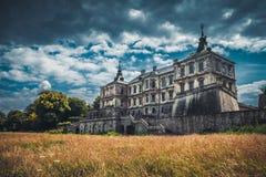 Pidhirtsi-Schloss, Lemberg-Region, Ukraine Stockbild