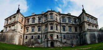 Pidhirtsi slott Royaltyfria Bilder