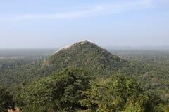 Pidurangala rock in Sri Lanka stock images