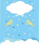Pieśniowy ptak ilustracji