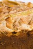Pie. Close up of the apple pie Royalty Free Stock Photos