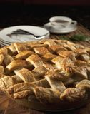 Pie. An apple pie fresh from the oven ready to eat Royalty Free Stock Image