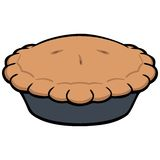 pie illustration stock