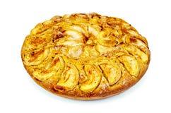 Pie apple whole Royalty Free Stock Photos