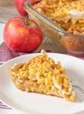 Pie with apples Stock Photos