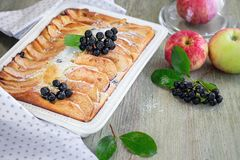 Apple pie. royalty free stock photography