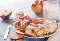 Pie with apples Royalty Free Stock Photos
