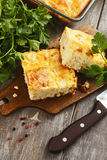 Pie with cabbage and eggs Stock Photography