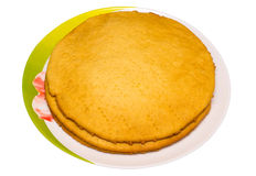 Pie cake layers Royalty Free Stock Image