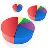 Pie chart Royalty Free Stock Photos
