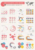 Pie Charts and More Royalty Free Stock Images