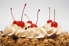 Pie with cherries Royalty Free Stock Photos