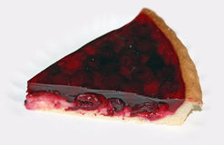 Pie with cherries Stock Photography