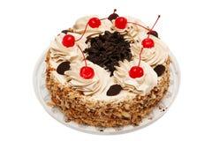 Pie with cherries Stock Image