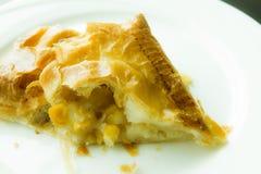 Pie corn Royalty Free Stock Photo