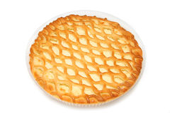 Pie with  cottage cheese stuffing Stock Image