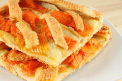 Pie Crostata Tart Stock Photo