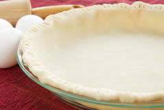 Pie Crust Royalty Free Stock Photography