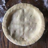 Pie crust Stock Photo