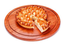 Pie With Curds Filling Royalty Free Stock Photo