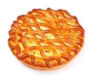 Pie With Curds Filling Royalty Free Stock Photos