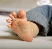 Pie del bebé Fotografía de archivo libre de regalías
