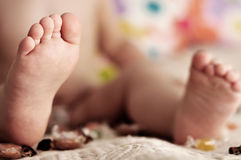 Pie del bebé Imágenes de archivo libres de regalías