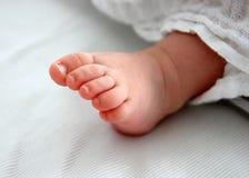Pie del bebé Fotos de archivo