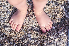 Pie 2 del bebé Imagen de archivo libre de regalías