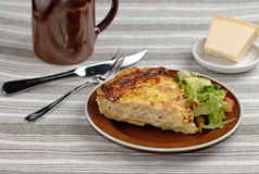 Pie dinner Royalty Free Stock Photography