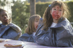 Pie eating contest, Stock Images