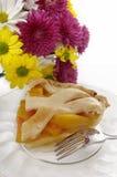 pie för 3 persika Arkivfoto