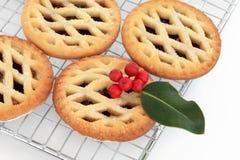 pie för cakesjärnekfärs Arkivfoto