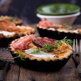 Pie with figs Stock Photos